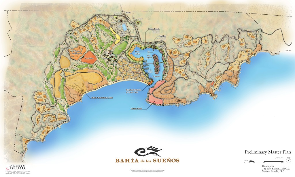 Bay of Dreams Master Plan
